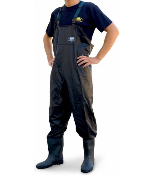 PVC  CHEST  WADER  BLACK