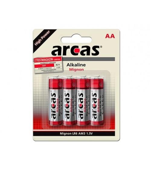 ARCAS Alkaline LR6 AA 1,5V