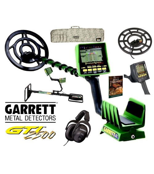 Pack Garrett GTI 2500 Pro + TOS