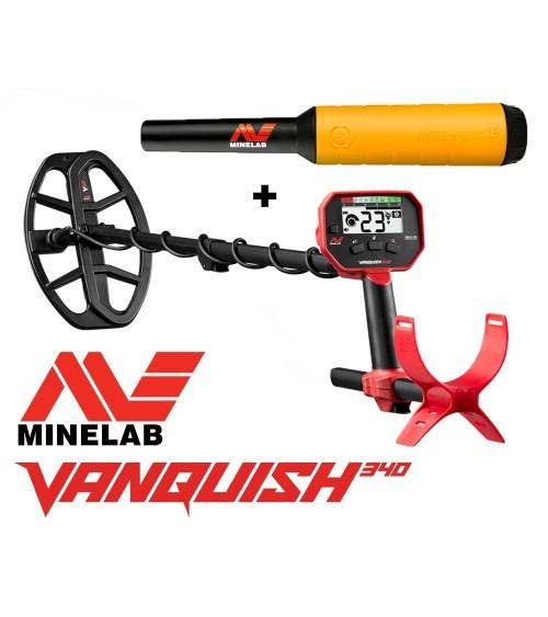 MINELAB VANQUISH 340 + Pro-Find 15