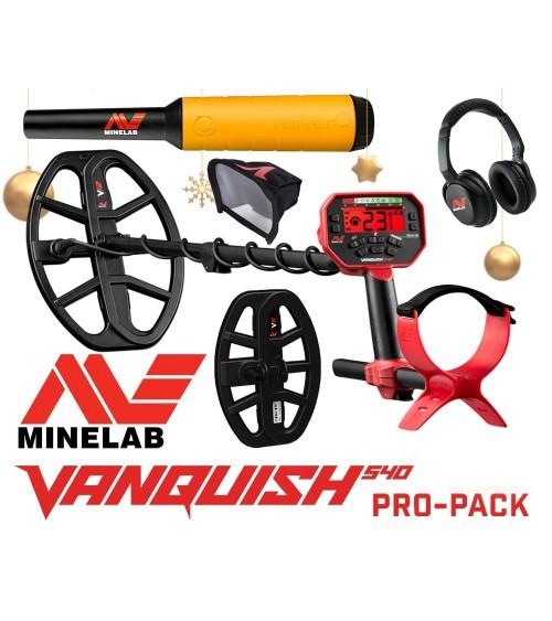 MINELAB VANQUISH 540 Pro-Pack + Pro-Find 20