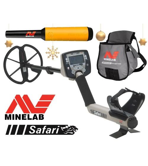 Minelab Safari Multi-Frequency whit Pro-find 20