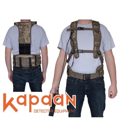 Harnais pour détecteur de métaux Kapaan / système de distribution de poids