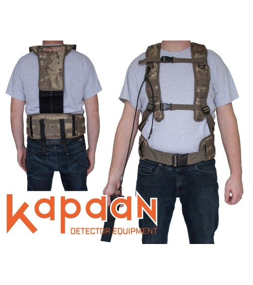 Kapaan metal detector dishes / weight distribution system