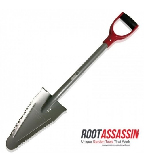 Root Assassin Pelle en acier inoxydable