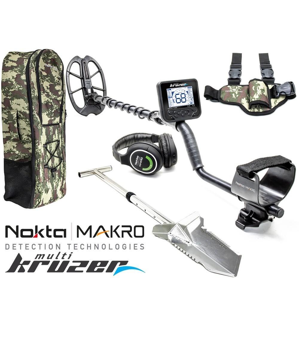 Nokta   Macro Multi-Kruzer + Sac à dos + Beche Premium  + Holster