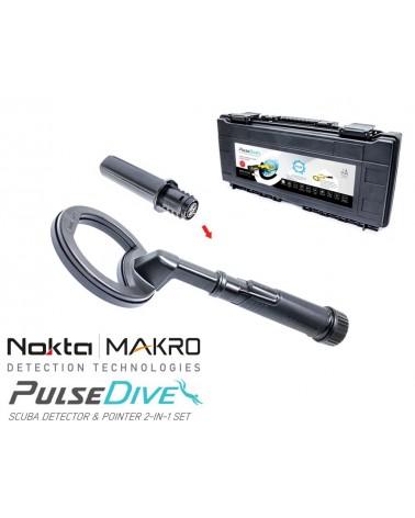 Nokta Makro PulseDive Scuba 2 in 1 Black