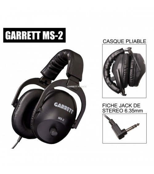CASQUES AUDIO GARRETT