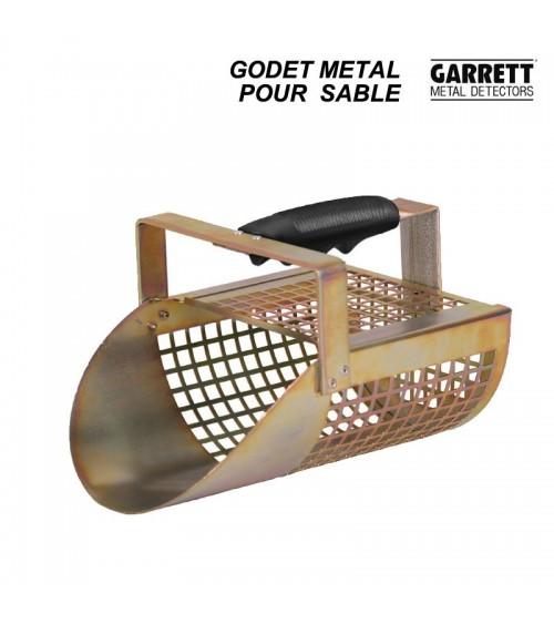 Godet métal pour la plage