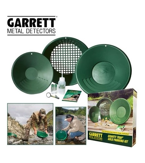 Kit d'orpaillage Garrett STANDARD