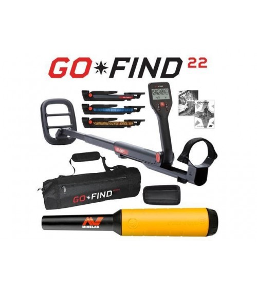 Minelab GO-FIND 22 Pack
