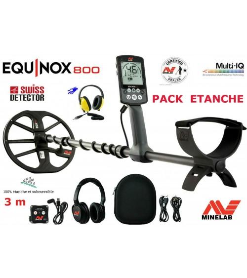 MINELAB EQUINOX 800 PACK ETANCHE