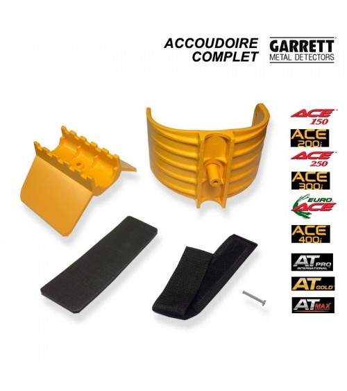 Accoudoire Garrett serie  ACE et  AT