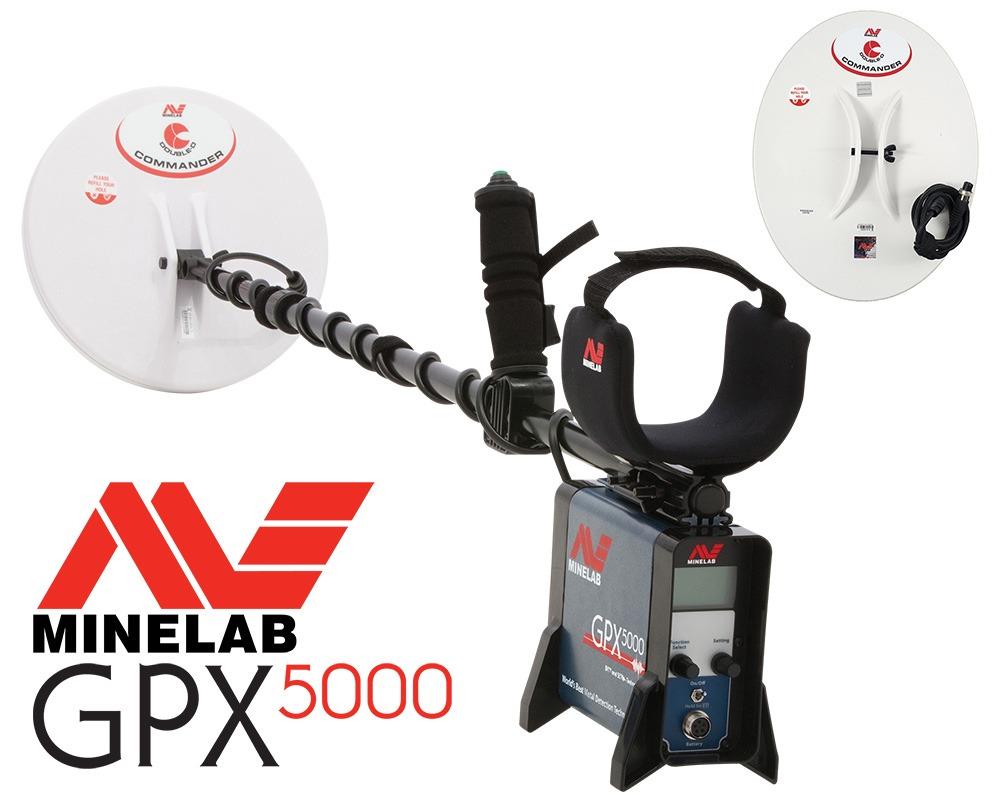 Détecteur d'or Minelab GPX 5000