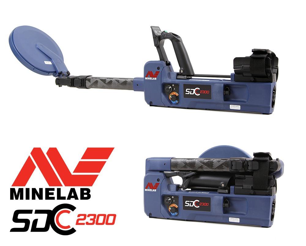 Détecteur d'or Minelab SDC 2300