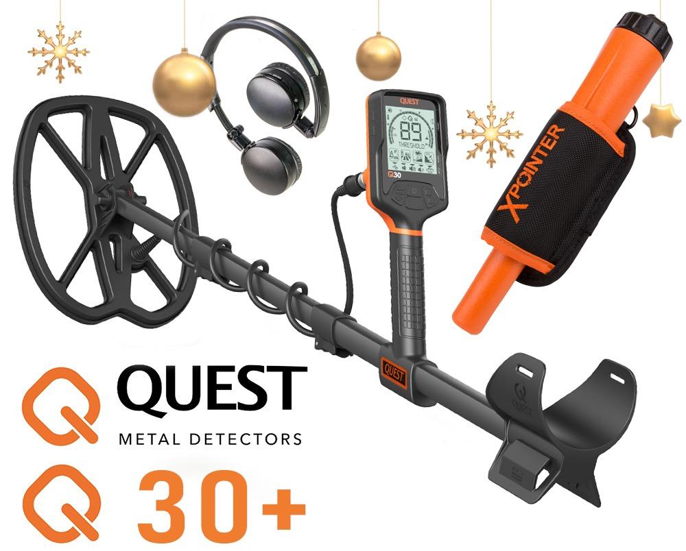 Détecteur de métaux Quest Q30 +