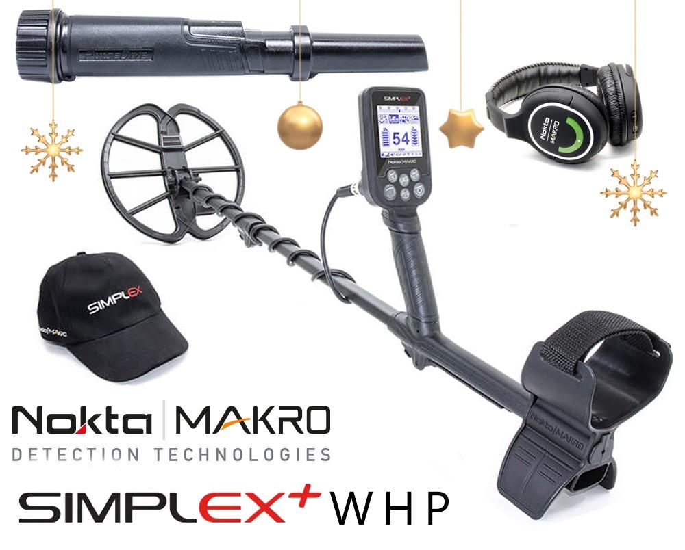 Nokta |  Détecteur de métaux Macro Simplex + WHP