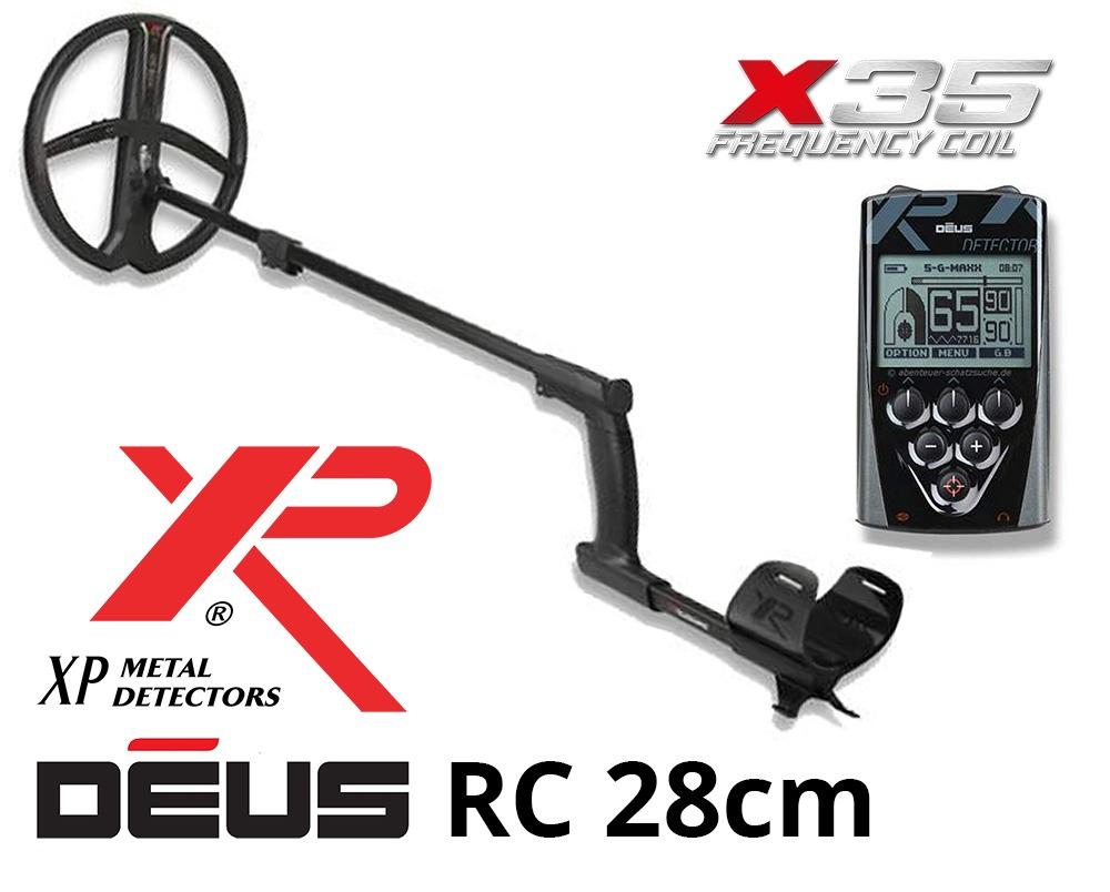 Détecteur de métaux XP DEUS X35 22 RC