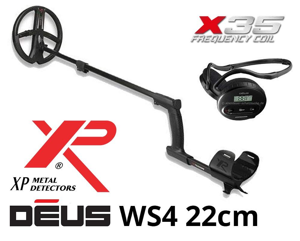 Détecteur de métaux XP DEUS X35 22 WS4