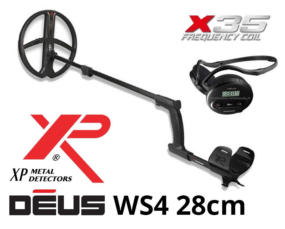 Détecteur de métaux XP DEUS X35 28 WS4